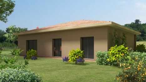 ARENA - 4 chambres - Plain pied - 89 m²
